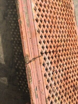 "Rt 5 2 Available Priced Each Antique Cast-Iron Radiator Cover 61"" X 10"" 9"