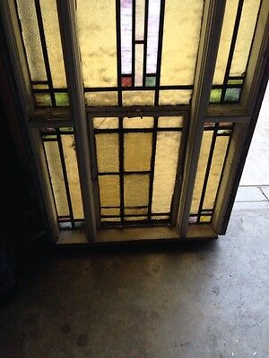 Antique Stain Glass Windows In Woodframe Youngstown's Finest Number 1 Of 4 5