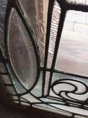 "Sg 749 Antique Transom Window 22"" X 42.25"" Beautiful 5"