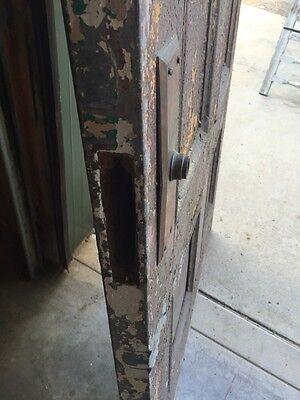 D206 Metal Galvanized Arch Top Door Antique 6