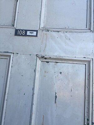 D206 Metal Galvanized Arch Top Door Antique 8