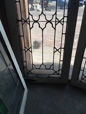Sg 517 Matched Pair Antique Cabinet Doors Or Transom Windows 4