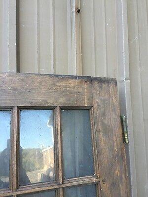 Cm 85 Antique Oak Entrance Door Or Passage Door 29.5 X 78 12