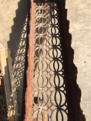 Rt 14 Antique Decorative Cast-Iron Radiator Cover 8