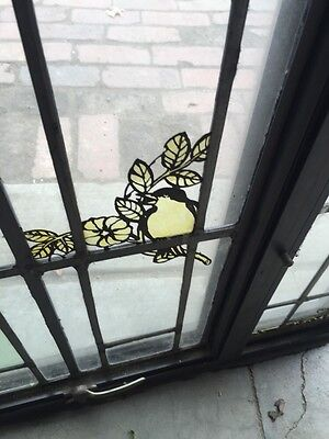 Sg 42 Vintage Stainglass Window In Thermal Frame 6