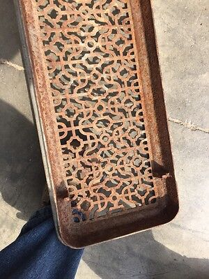 "Rt 7 Antique Cast-Iron Radiator Cover 29"" X 9 And Three-Quarter Inch 7"
