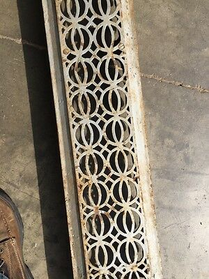"Rta 12 Decorative Antique Cast-Iron Radiator Cover 48"" X 7"" 4"