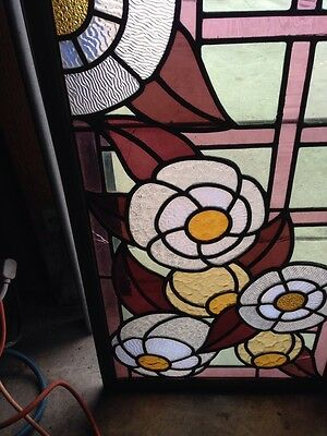 Antique Six-Foot Stained-Glass Skylight 4
