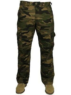 fa1ab081dd ... Bnwt Mens Forge Combat Cargo Camo Army Pants Trousers Smart Casual Sizes  28-48 4