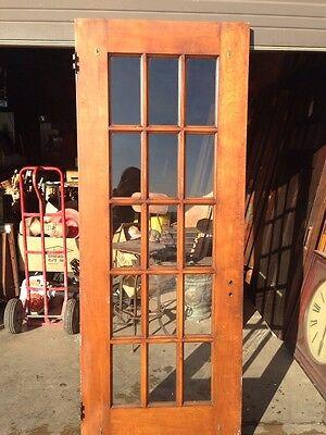D 23 Antique Birch Or Cherry 15 Light Entrance Door 3