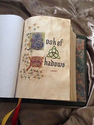 ✨**CHARMED BOOK OF SHADOWS✨REPLICA! PROP! Not Dvd Set!✨TV WITCHES✨WICCA ✨EASTER✨ 11