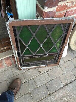Sg 327 Two Matching Antique Fluer De Lis Windows In Cast-Iron Frames 4