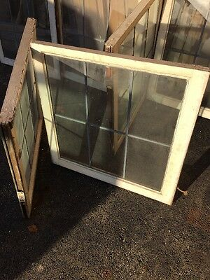 D Cm Six Matching Antique Sash Windows In Zinc 30 Wide By 29 Hi 5