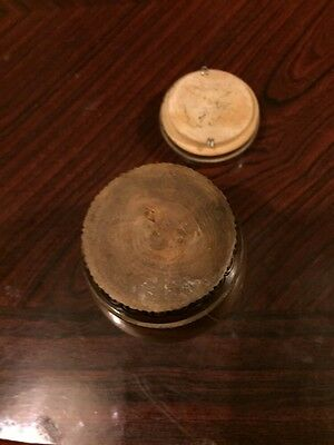 Lovely Handmade And Decorated Vintage Wooden Barrel Money Storage Pot