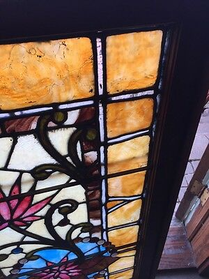 Sg 585 Gorgeous Antique Victorian Transom Window Jewels 3