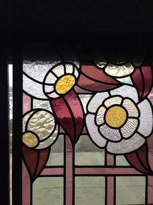 Antique Six-Foot Stained-Glass Skylight 5