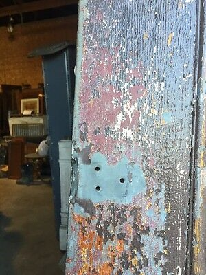D206 Metal Galvanized Arch Top Door Antique 4