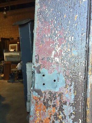D206 Metal Galvanized Arch Top Door Antique 4
