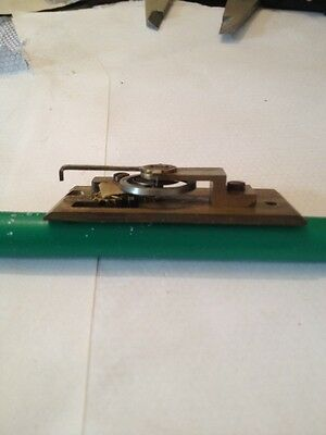 CLOCK PLATFORM  NEW  OLD STOCK (8 LEAF) 23.5 x 54 mm no  drop 3