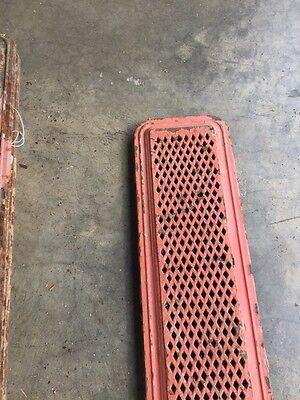 "Rt 3 Antique Cast-Iron Radiator Cover 39"" X 7 And Three-Quarter Inch 2"
