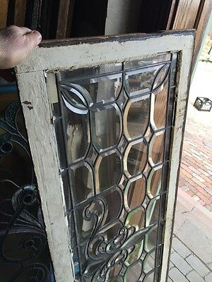 Sg 596 All Beveled Glass Transom Window 22 Inches High By 56 1/4 Long 10
