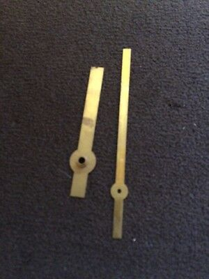Clock Hand Brass Finish Inch  New Old Stock 012 2