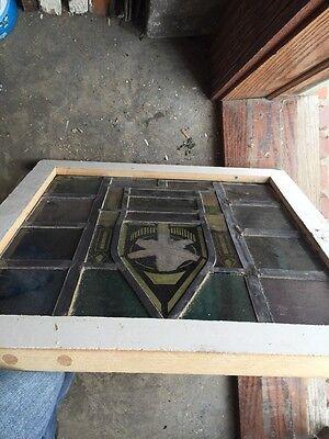 Sg 712 Antique Religious Symbol Window 4