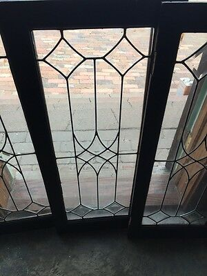 Sg 322 Three Available Priced Separate Antique Transom Or Cabinet Window 2