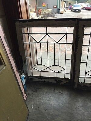 Sg 324 Available Priced Each Antique All Beveled Glass Windows 2