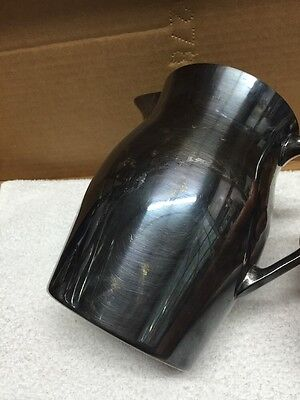 Vintage EPCA Bristol Silverplate By Poole Pitcher 6