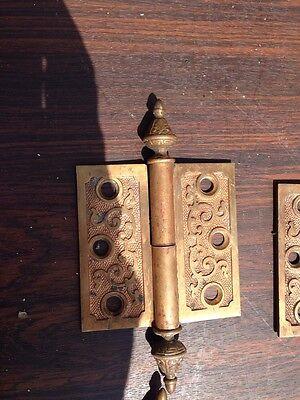 "Sw3 4 Matching 3 Inchx 3"" Decorative Bronze Hinges 3"