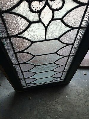 Sg 739 Antique Transom Window With Double Glass Center 5