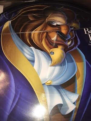 Disney Parks Vinyl Record Collection Beauty and The Beast Picture Disc New 6