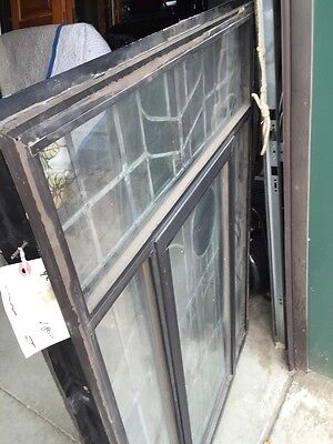 Sg 42 Vintage Stainglass Window In Thermal Frame 11