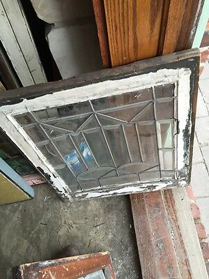 Sg 324 Available Priced Each Antique All Beveled Glass Windows 6