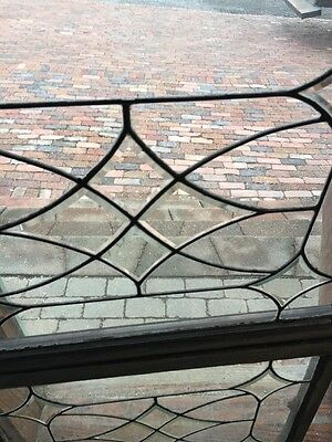 Sg 1041 4 Available Price Separate Antique Four Point Beveled Glass Window