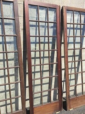 "Cm 21 For Available Price Separate Antique Pine French Door 27"" X 84 X11 5/8"" 4"