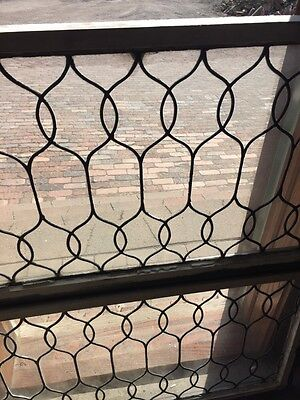 Sg 653 Two Available Price To Each Antique Leaded Glass Curly Cue Design Windows 3