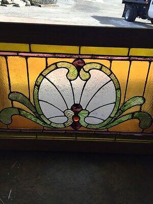 Sg 559 Antique Stainglass Victorian Window Schell Design 3