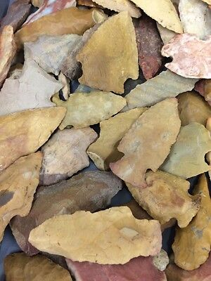 5 Authentic Indian Arrowheads KY GA MS TN AL AR Satisfaction Guarantee Grab Bag 5