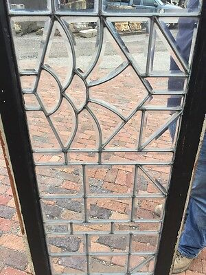 Sg 830 Antique All Beveled Glass Transom Window 6