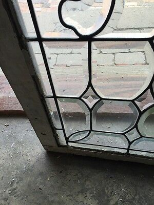 Sg 596 All Beveled Glass Transom Window 22 Inches High By 56 1/4 Long 6