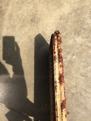 "Rt 10 Antique Cast-Iron Radiator Cover 25"" X 8 Half-Inch 4"