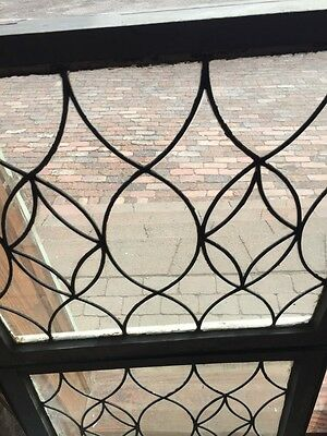 Sg 657 Antique Leaded Glass Window Two Available Priced Each 3