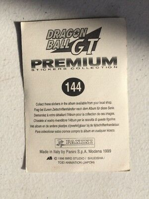 Lotto Di 65 Figurine Panini Dragon Ball Gt Premium Anno 1999 6