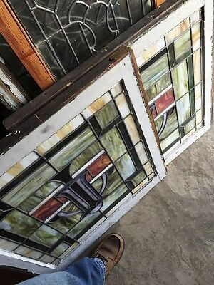 Sg 556 Two Available Price Each Stainglass Windows Arts 10