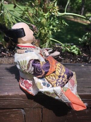 Antique Japanese Musha Ningyo Warrior Doll Boy's Day Festival Yoshitune Meiji 5
