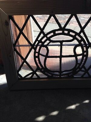 Sg 140 Antique Leaded Window 20 In 0.125 X 15 And Three Eights Hi 2