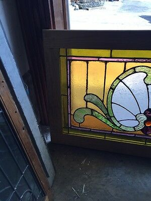 Sg 559 Antique Stainglass Victorian Window Schell Design 2