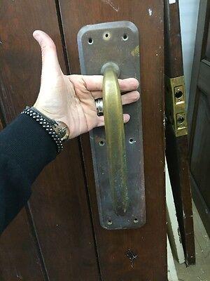 Door Hardware Craftsman Brass Large Door Pull